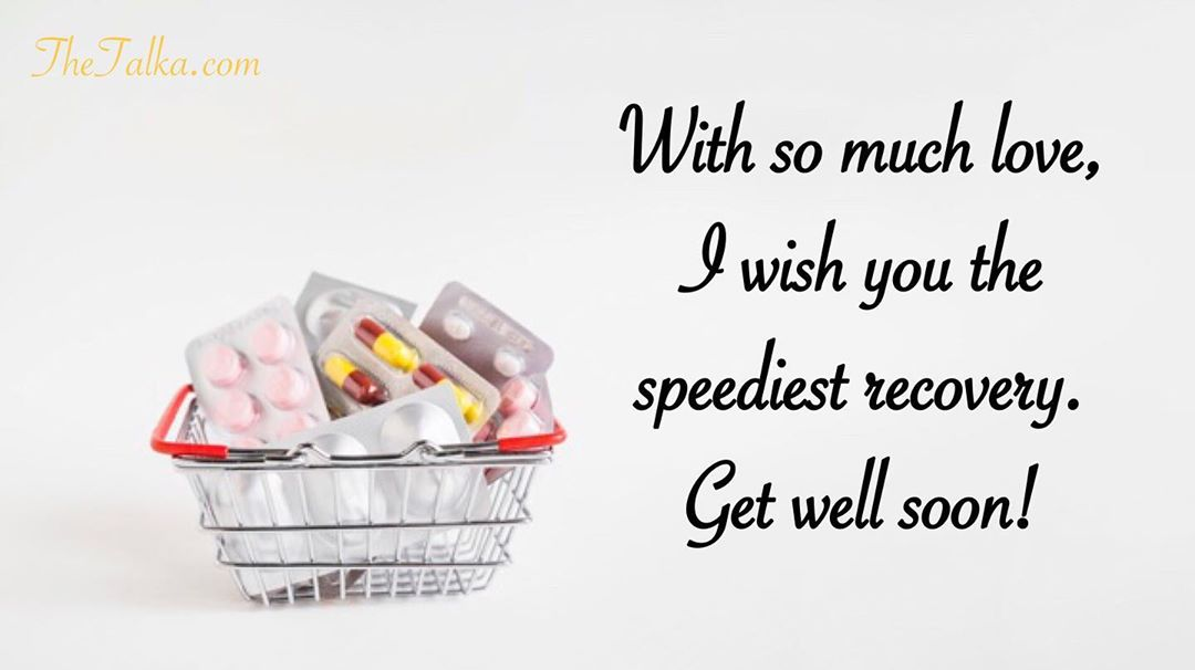 Get Well Soon Wishes For A Speedy Recovery