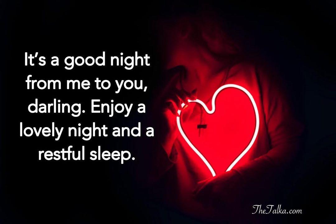 Night text message