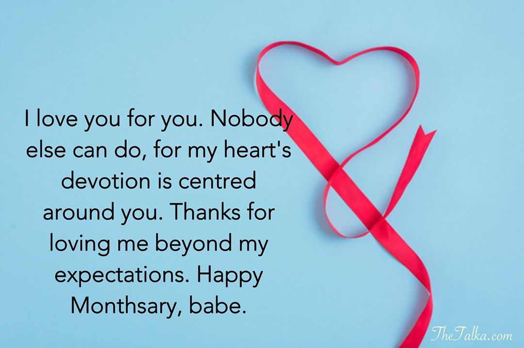 Happy Monthsary Messages For Your Boyfriend