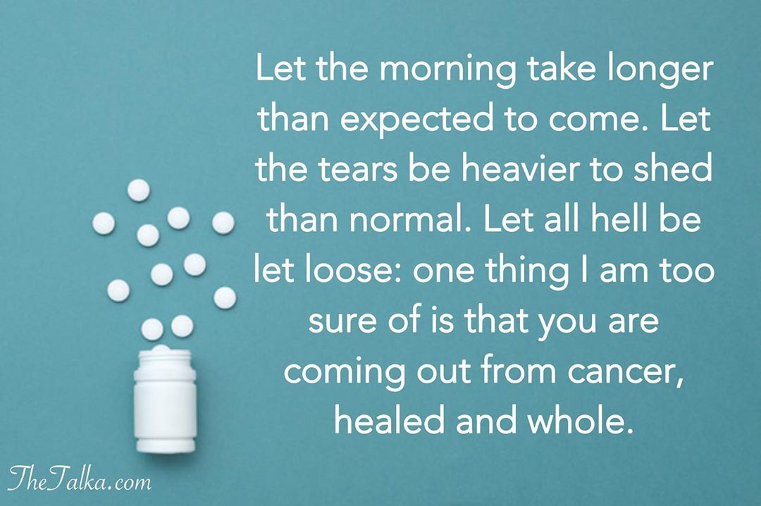 Positive Messages For A Cancer Patient
