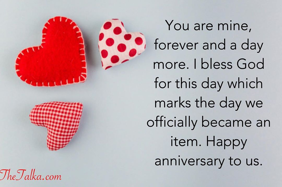 Romantic Anniversary Messages For Boyfriend