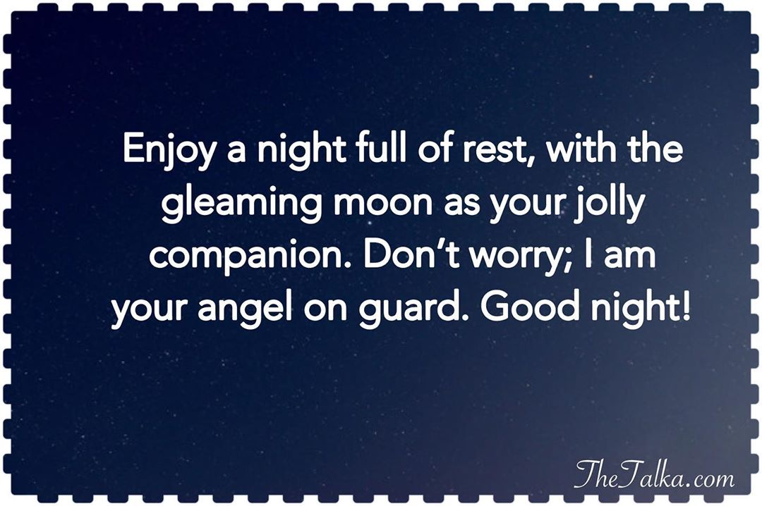 Goodnight Messages For Your Friend