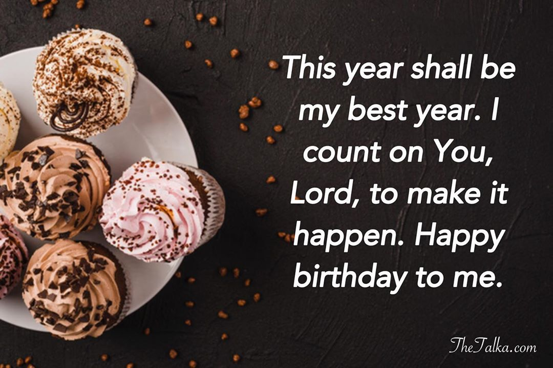 Birthday Prayer Wishes For Myself