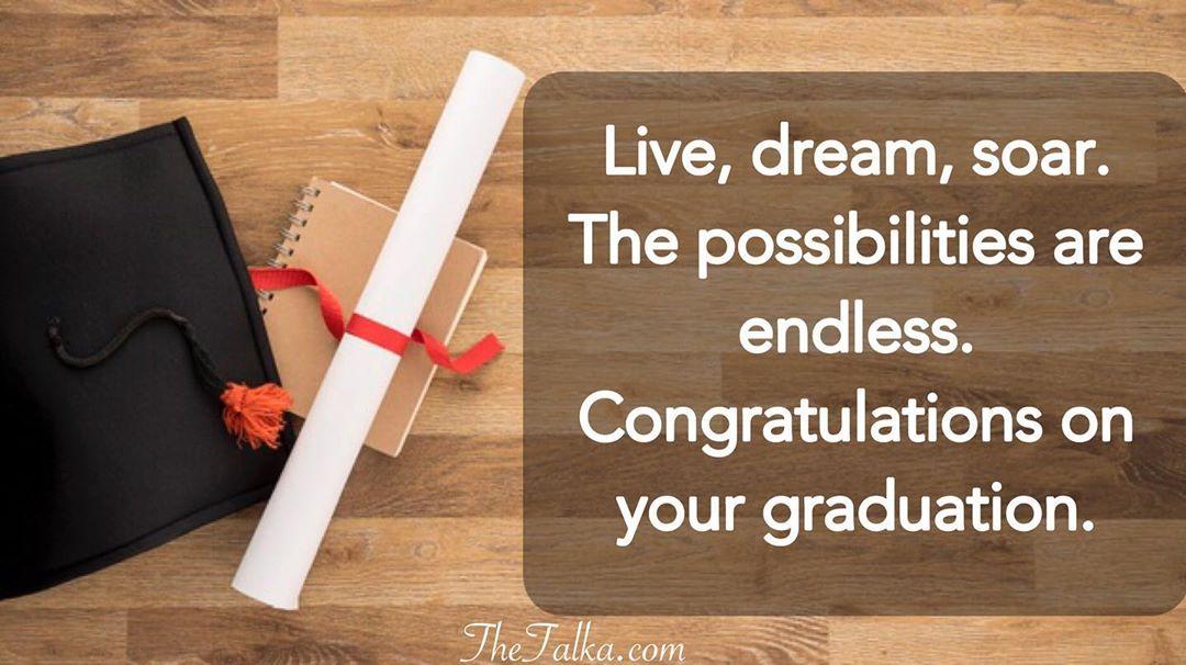 Congratulations On Your Graduation Messages
