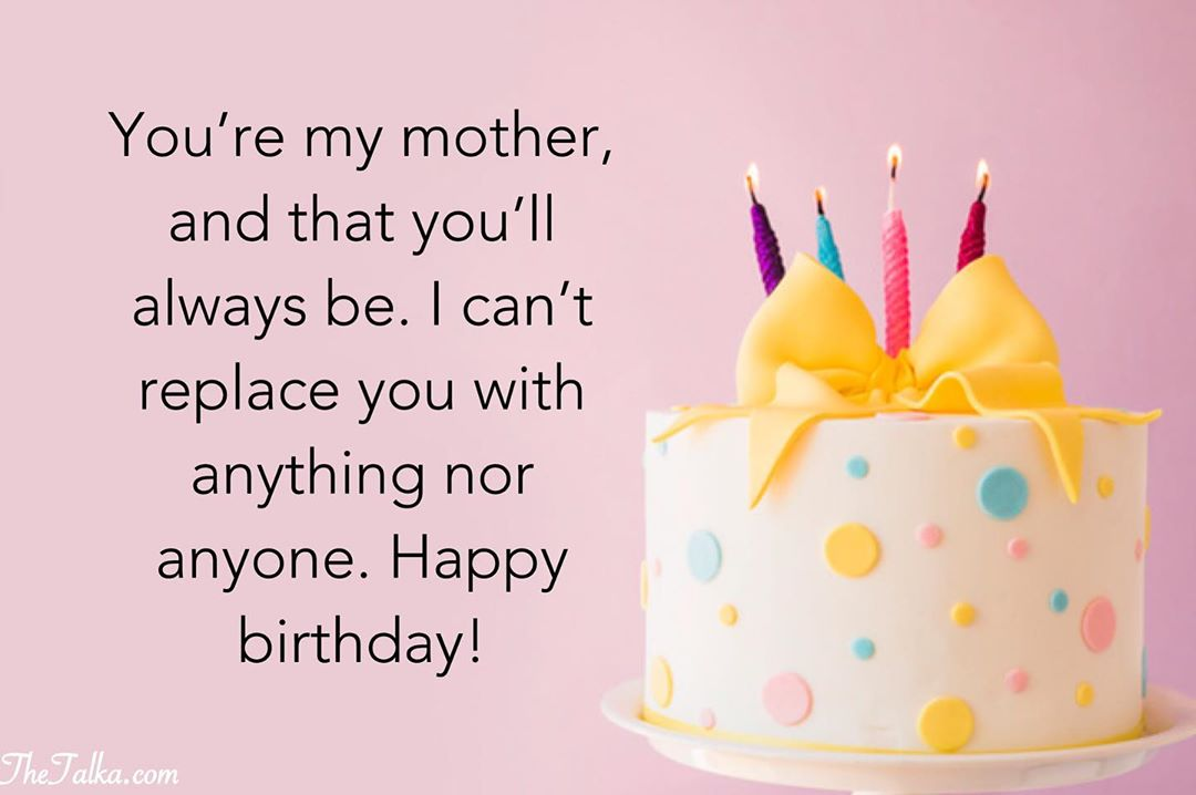 Deep Birthday Wishes For Mom
