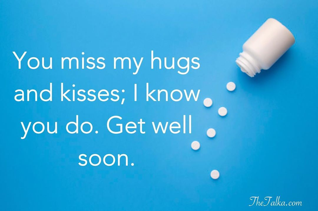 Funny Get Well Soon Messages For Girlfriend