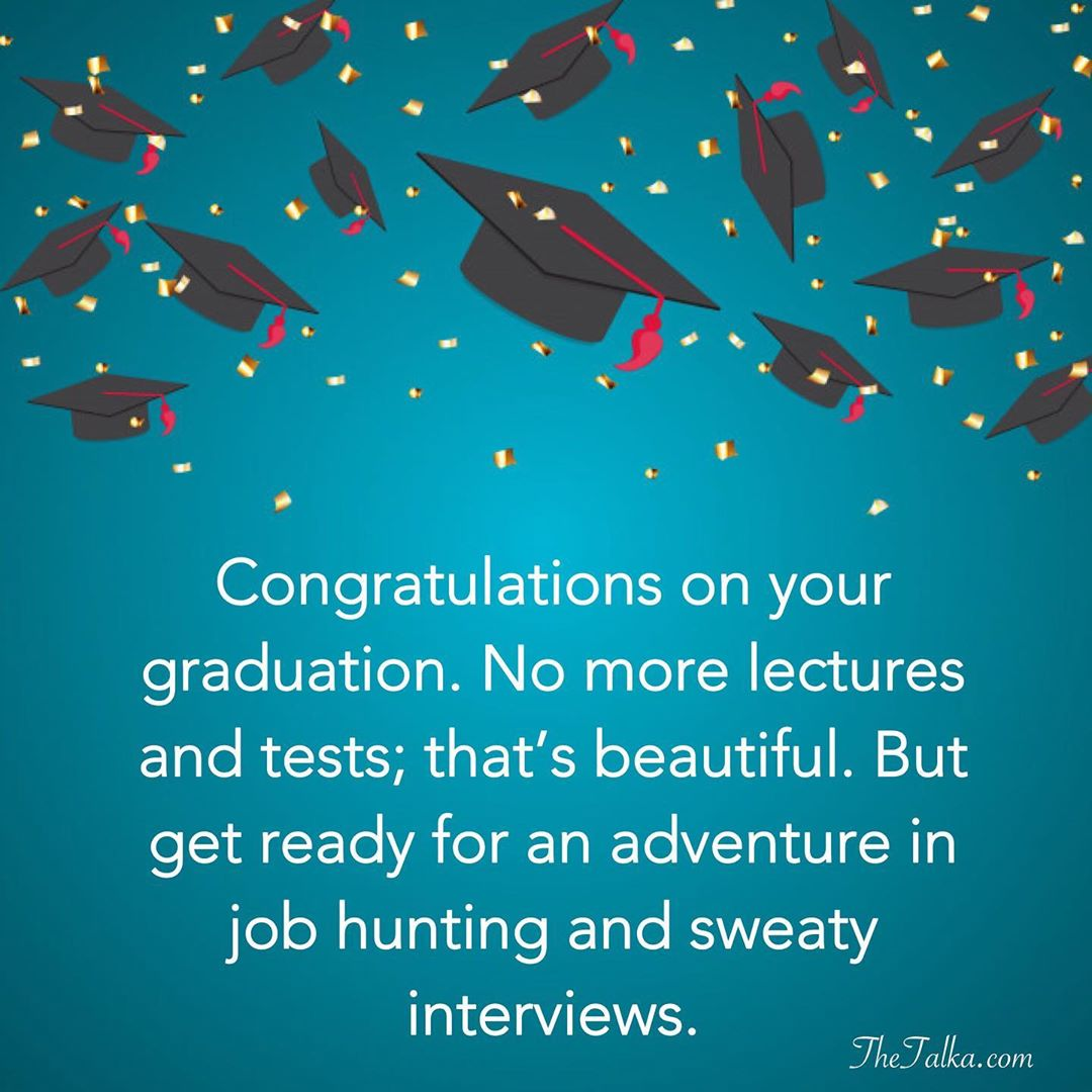 Funny Graduation Messages