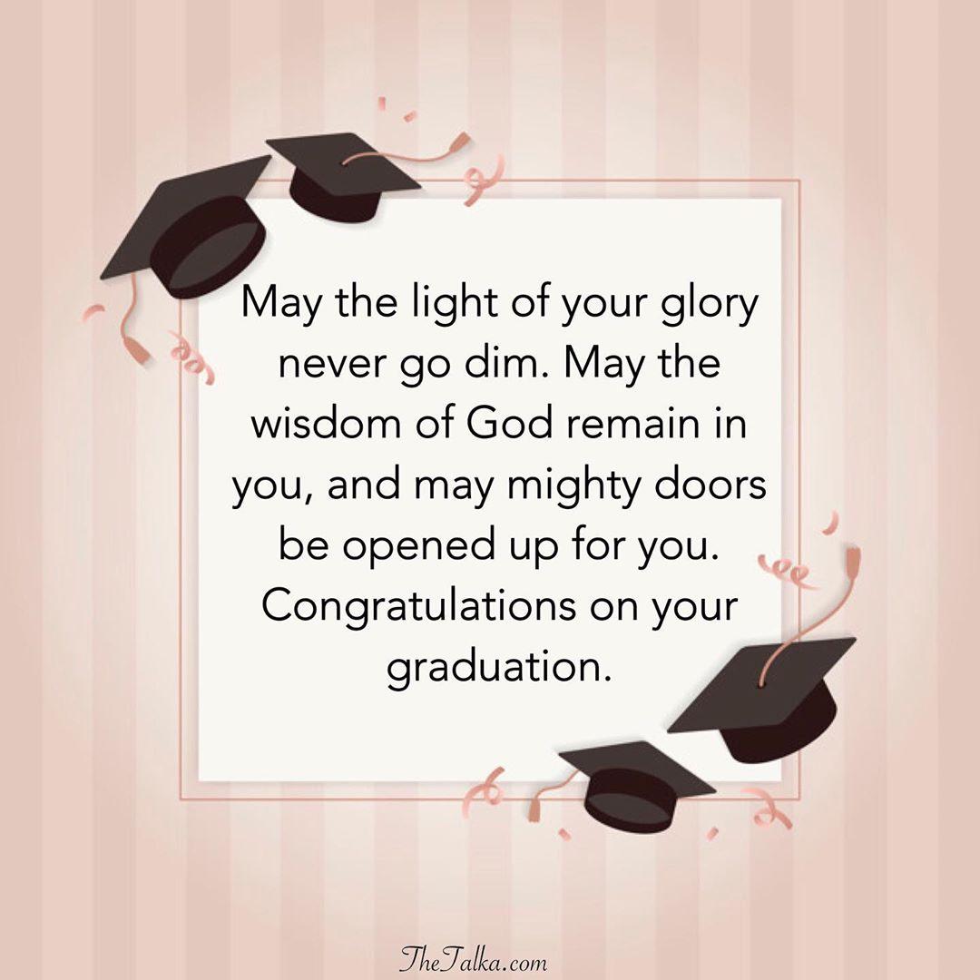 Inspirational Graduation Messages