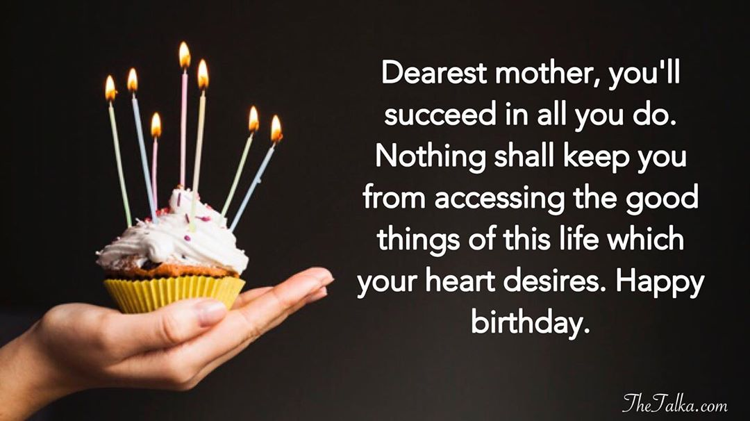 Prayer Birthday Wishes For Mom