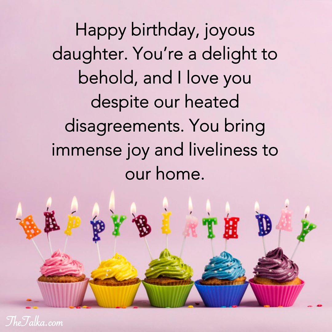 Heartwarming Birthday Wishes For Your Daughter