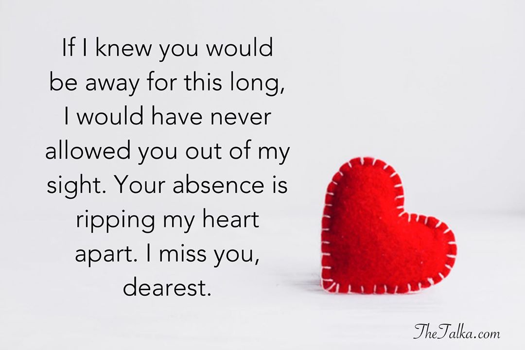 Romantic I Miss You Messages For Her