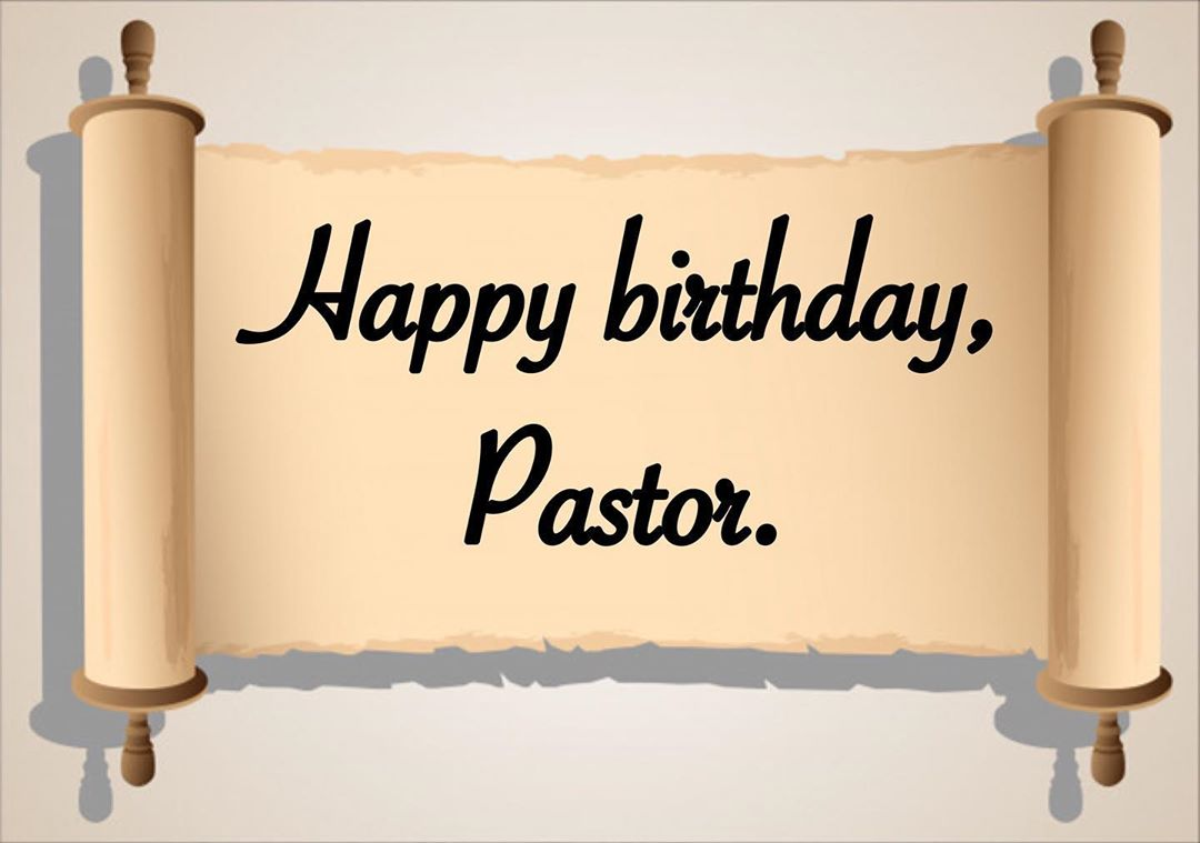 Birthday Wishes For Pastor