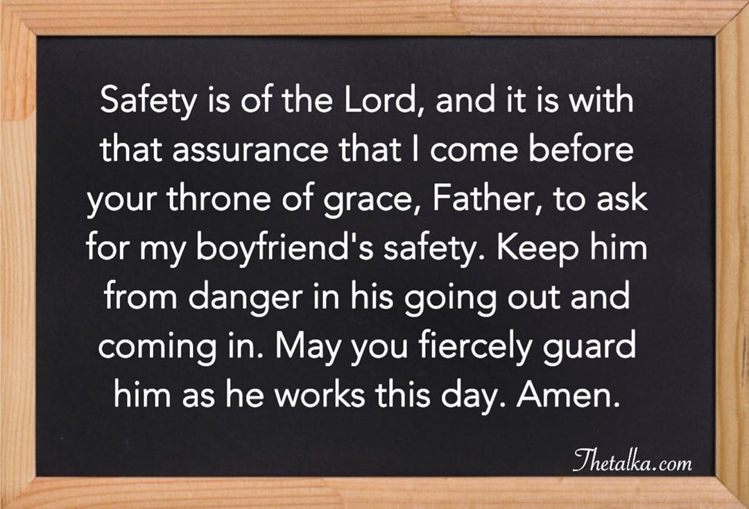 prayer for boyfriend
