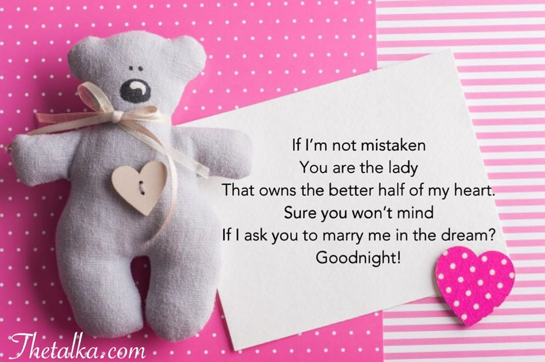 Funny Good Night Poems For Her
