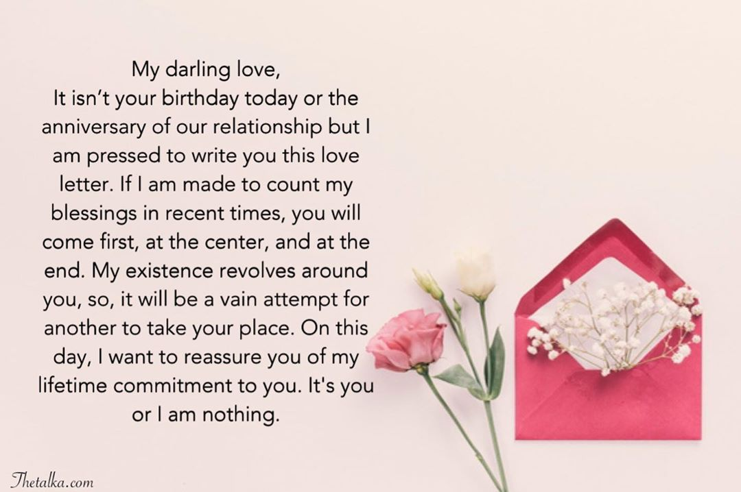 Thank You Love Letter To My Boyfriend from www.thetalka.com