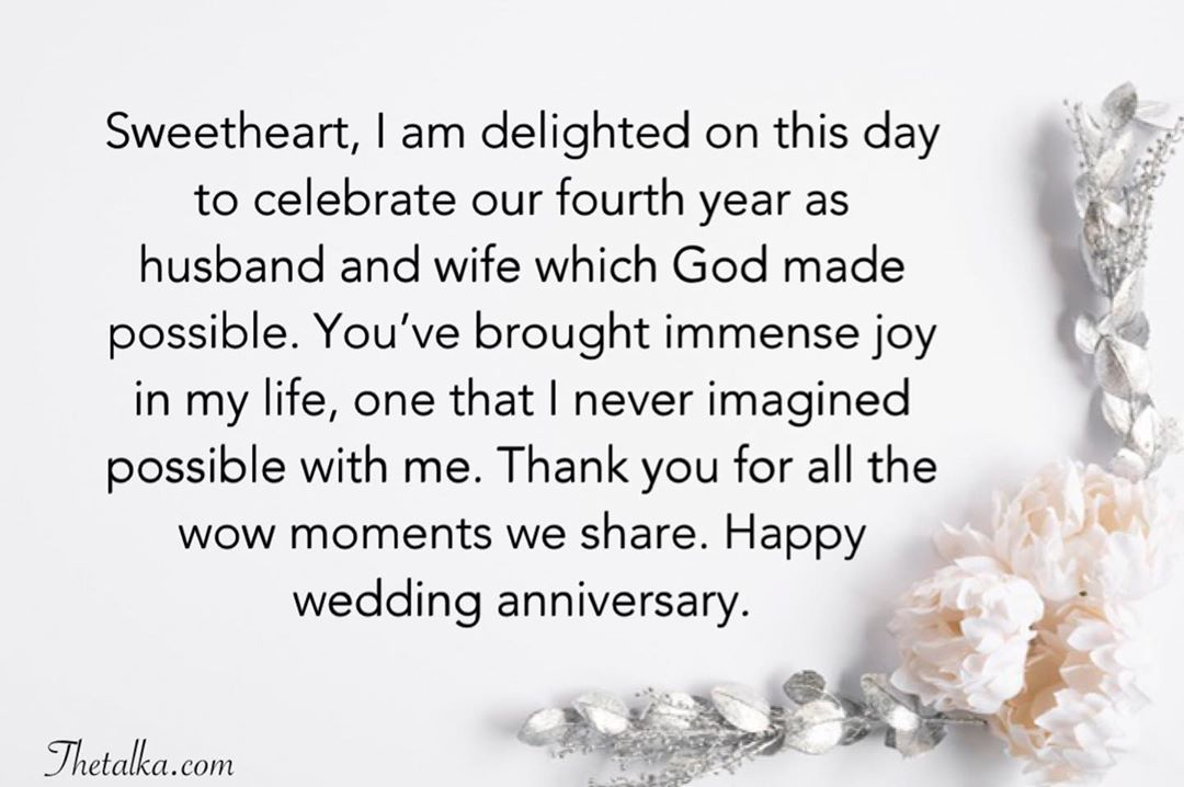 Christian Wedding Anniversary Wishes For Wife Or Husband