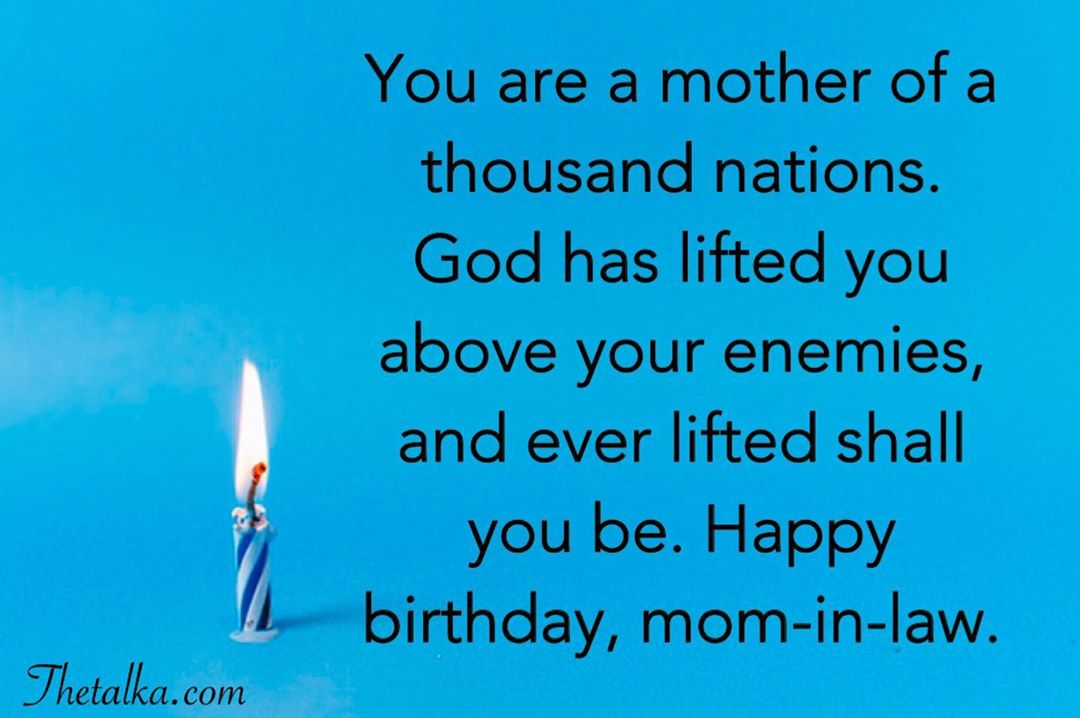 Religious Birthday Wishes For Mother-In-Law