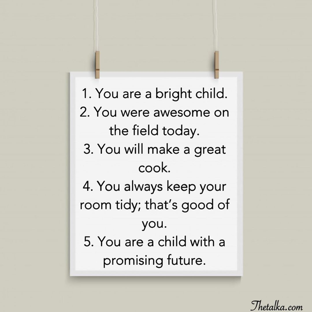 Positive Words For Kids