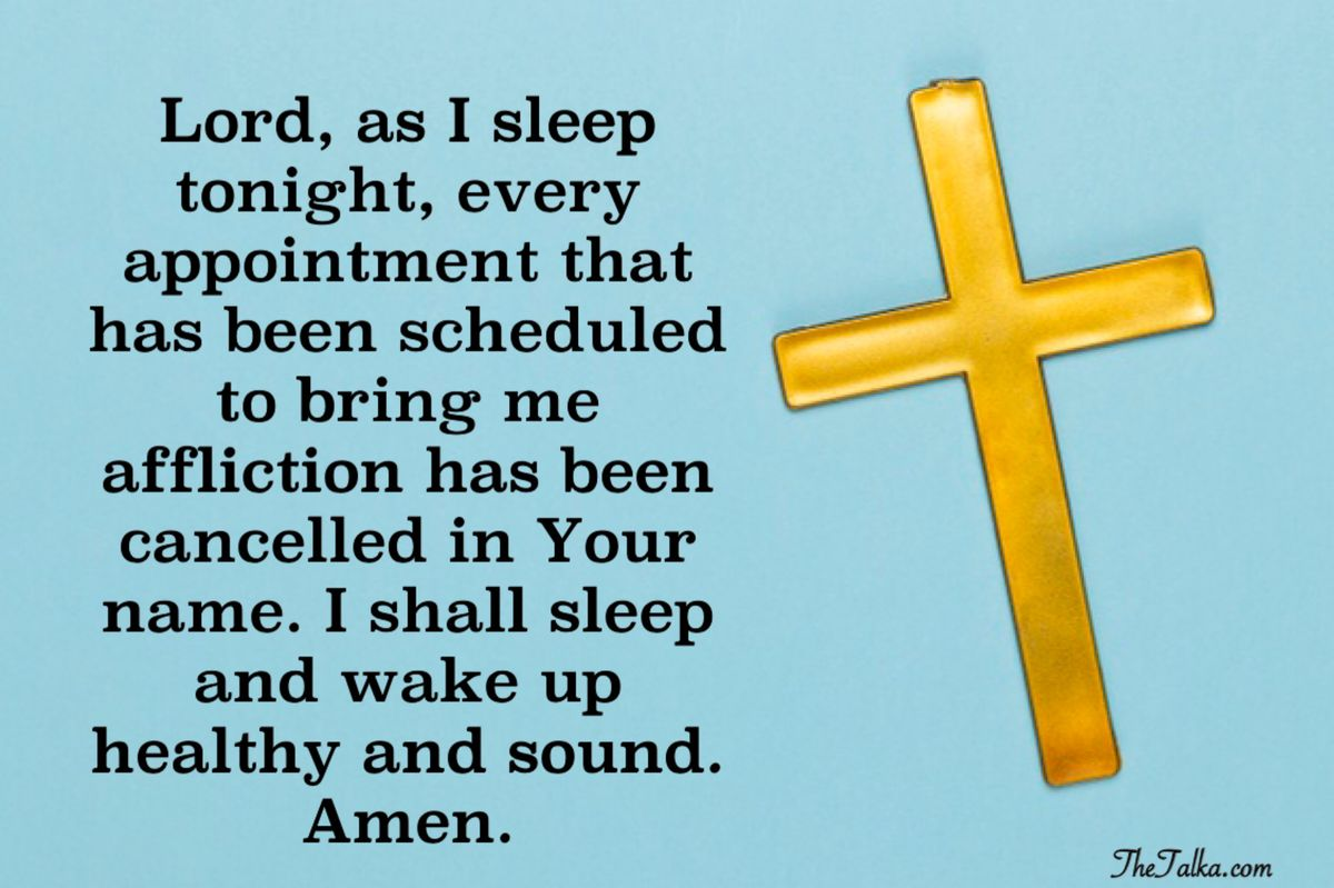Bedtime Prayers For Protection