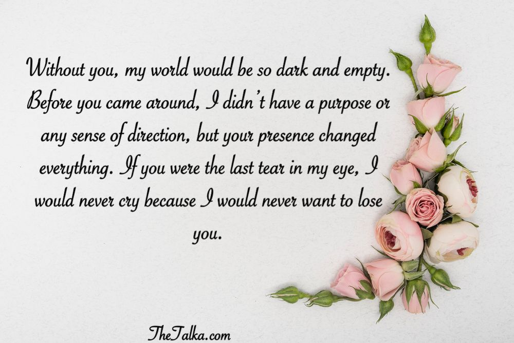 Long Romantic Love Messages For Her or Him