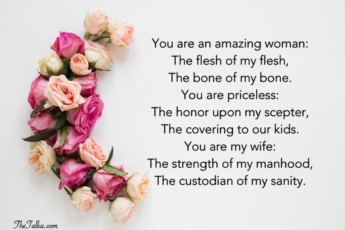 Deep Love Poems For Wife